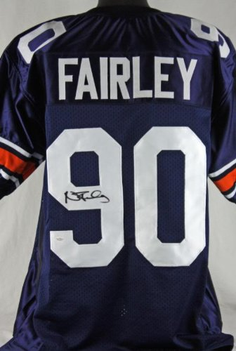 AUBURN NICK FAIRLEY AUTHENTIC SIGNED JERSEY JSA #W178570 at Amazon.com