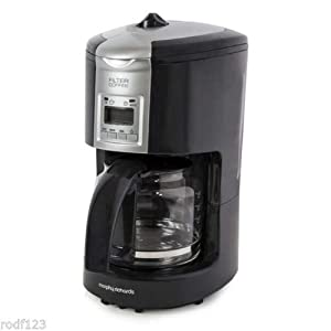 Morphy Richards Compliments 47049 Filter Coffee Maker - Graphite: Amazon.co.uk: Kitchen & Home