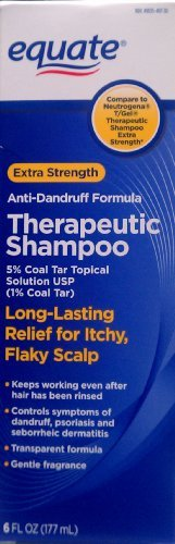 Equate Theapeutic Shampoo 6 Oz Anti Dandruff Compare To Neutrogena Tgel front-859716