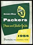 1954 Green Bay Packers Media Guide Ex Cond at Amazon.com
