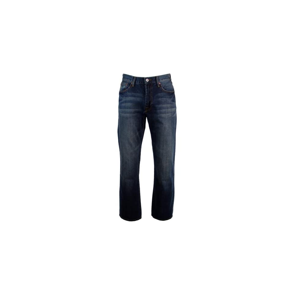 9868d8c2 Lucky Brand Mens 181 Relaxed Fit Straight Leg Jeans 32W x 30L on ...