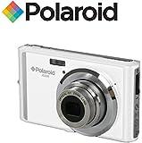 "Ultra Compact Digital camera 18 MegaPixel Polaroid IE826 (18MP 8x Optical Zoom, Li-Ion Battery, 2.4"" Screen) (White)"