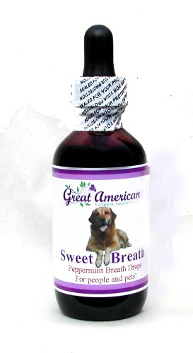 Natural Breath Drops For Pets With Chlorophyll & Peppermint Essential Oil