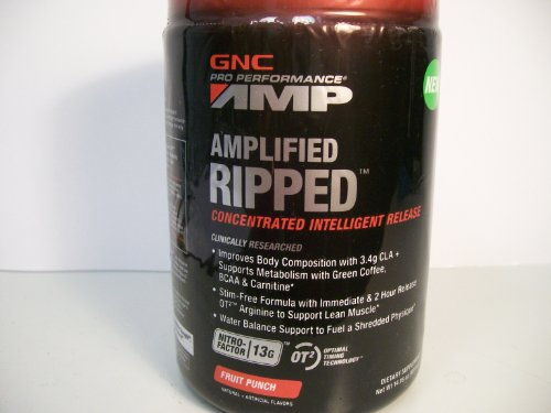 Gnc Amplified Ripped 14.16Oz