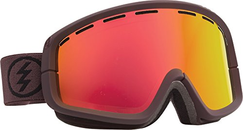 Electric Egb2 Snow Goggle, Mississippi Mud, Grey/Red Chrome