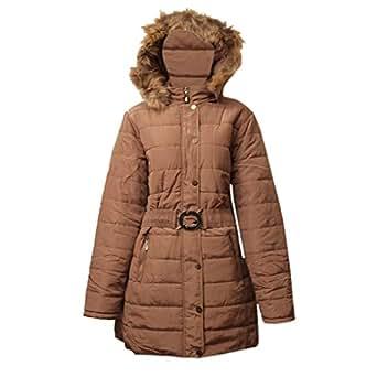 Waooh - Winter Jacket Detachable Hood Bernadette at Amazon