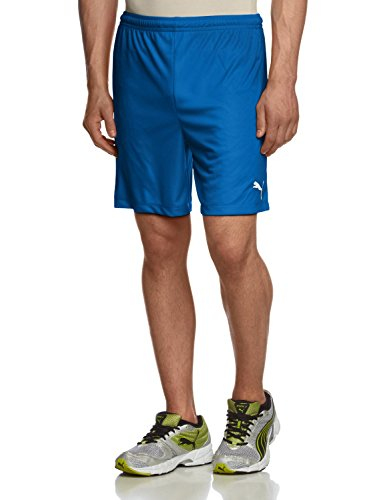 Puma Teamwear Velize Mens Training Shorts Blue Size 3XL