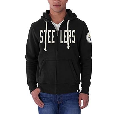 Pittsburgh Steelers Men's NFL Cross-Check Full Zip Sweatshirt