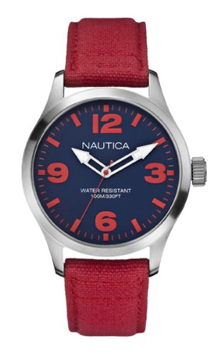 nautica-bfd-102-mens-quartz-watch-with-blue-dial-analogue-display-and-red-fabric-strap-a11559g