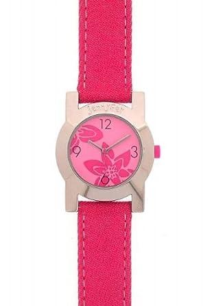 JENNYFER JE 1013 ROSE Montre quartz Bracelet cuir rose