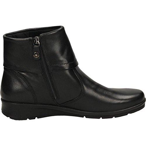 ENVAL SOFT 68700 nero scarpe donna stivaletti tronchetti zip 38