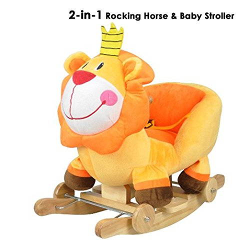 Baby Lion Rocking Ride On Toy