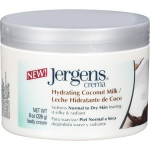 Jergen Crema Hydrating Coconut Milk 8 oz. Jar (Pack of 6) (8 Oz Milk Jars compare prices)