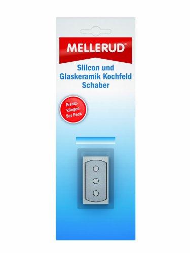 MELLERUD Silicon und Glaskeramik Kochfeld Schaber Ersatzklingen 5er Pack 2049408345