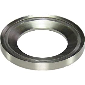 Brushed Nickel Mounting Ring for Vessel Sinks