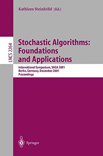 Stochastic Algorithms: Foundations and Applications: International Symposium, SAGA 2001 Berlin, Germany, December 13-14,