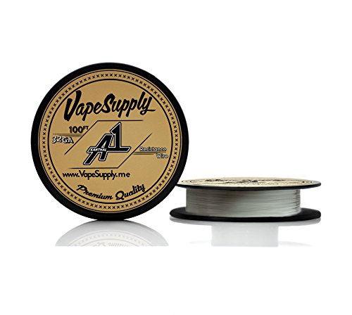 Kanthal 32 Gauge Awg A-1 Wire 100Ft Spool 0.20 Mm , 13.75 Ohms/Ft Resistance