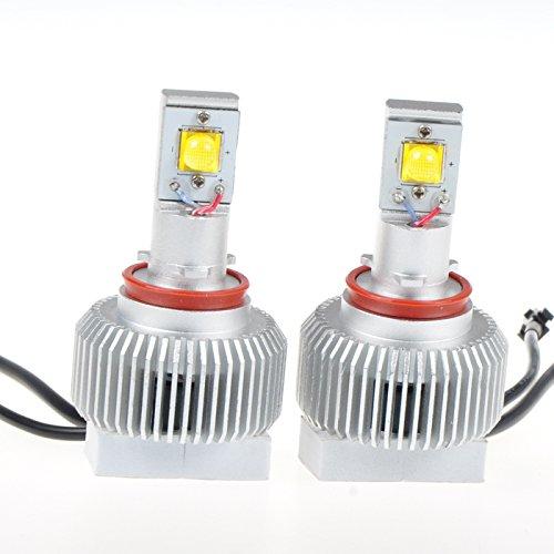 Suparee Auto Head Lighting H11 Socket 3200Lm 6000K 70W 2Pcs Cree Mtg2 Led Lamp Bulb For Car Vehicle Headlight Fog Lights