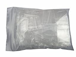 Generic Reclosable Poly Zipper Bags Clear Ziplock Pouches 4 Mil 1\