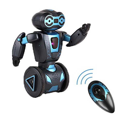 Self-Balancing Stunt Robot, SainSmart Jr. Smart Electrical Robotic Toy with Remote Control, 5 Operating Modes ( Music Dancing, Boxing, Driving, Loading, Gesture Sensing), Black (Remote Control Spy Robot compare prices)