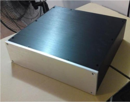 Nobsound All Aluminium Case Bz3209 For Professional Pre-Amp/Dac Chassis (300*320*90)
