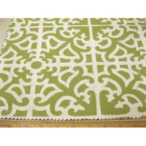 Fabric Waverly Linen Parterre Grass WV64 By Yard,1/2 Yard,Swatch