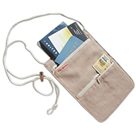 Rick Steves Silk Neck Wallet