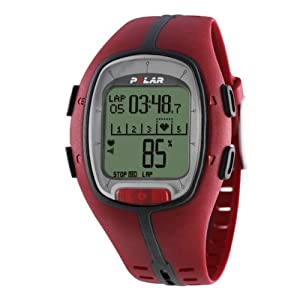 Polar RS200 Heart Rate Monitor Watch (Red)