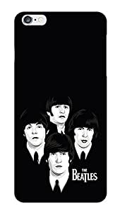"""Humor Gang Minimalistic Beatles Rock Printed Designer Mobile Back Cover For """"Apple Iphone 6 PLUS-6s PLUS"""" (3D, Glossy, Premium Quality Snap On Case)"""