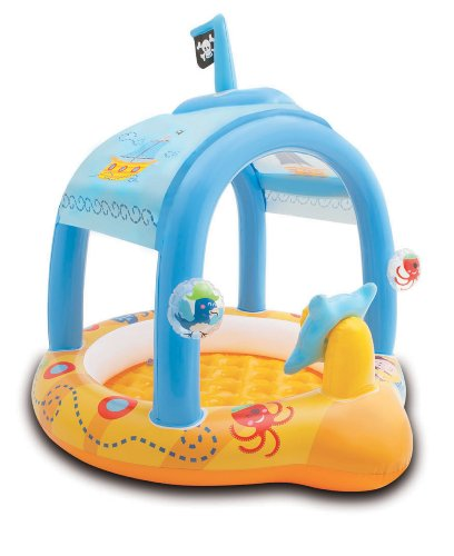 Intex Lil' Captain Inflatable Baby Pool, 42