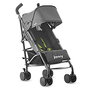 Joovy Groove Ultralight Lightweight Travel Umbrella Stroller, Charcoal