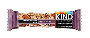 KIND Nuts & Spices, Cashew & Ginger Spice, 48 Bars from KIND