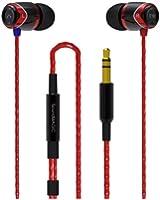 SoundMAGIC E10 Écouteurs intra-auriculaires - Rouge/Noir