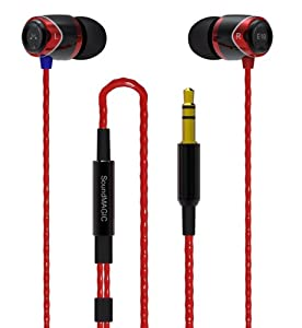 SoundMAGIC E10 Earphones - Black/Red