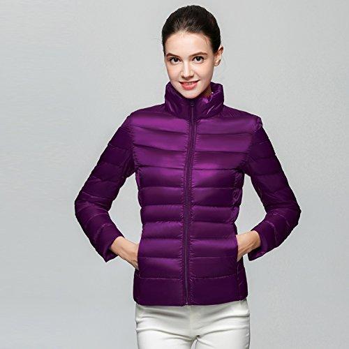 WJP donne ultra leggero rivestimento Packable gi? Outwear tampone piumino W-1046