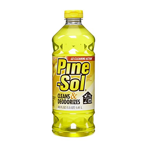 clorox-40199-48-oz-pine-sol-lemon-fresh-liquid-cleanser-pack-of-8