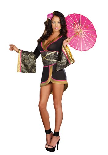 Dreamgirl Women's Sexy Geisha Costume Asian Persuasion
