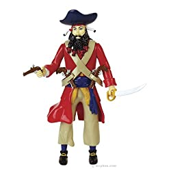 Accoutrements Blackbeard Action Figure from Flat River Group