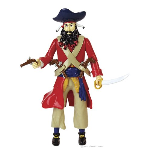 Accoutrements Blackbeard Action Figure