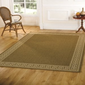 Florence Lorenzo Natural Contemporary Rug Rug Size: 230cm x 60cm (7 ft 6.5 in x 1 ft 11.5 in) by Flair Rugs