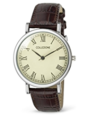 Collezione Round Face Analogue Classic Roman Watch