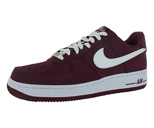 nike air force 1 cherrywood red white