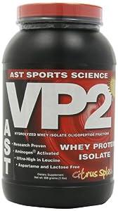 Ast Sports Science VP2 Citrus Splash, 2-pounds Tub