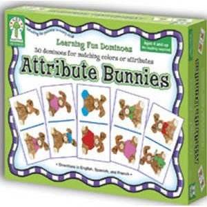 Dominoes: Attribute Bunnies