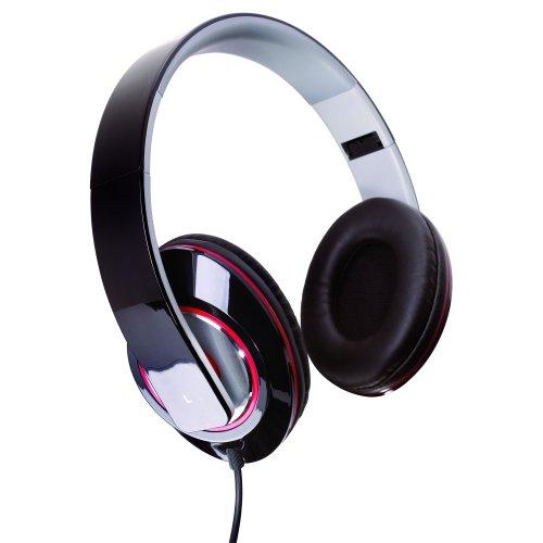 Sunbeam 72-Sb540 Stereo Bass Foldable Headphones - Black