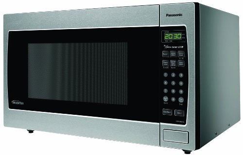 Panasonic NN-SN973S 1-Piece 2.2 cu.ft Inverter Technology Microwave Oven, 1250 watt