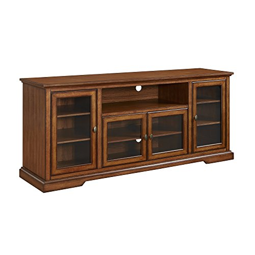 Walk w70c32rb we furniture rustic highboy style wood tv for Furniture 70s style