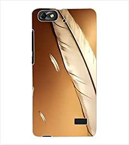 ColourCraft Beautiful Abstract Design Back Case Cover for HUAWEI HONOR 4C