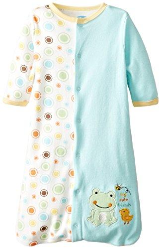 BON BEBE Unisex-Baby Newborn My Cute Friends Sleep Sack, Multi, 0-6 Months