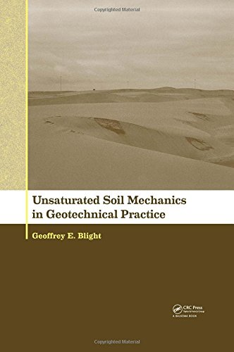 Unsaturated Soil Mechanics in Geotechnical Practice PDF